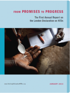 From Promises to Progress, 1st AR on London Decl on NTDs