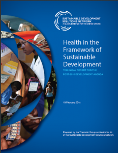 Health in the Framework of Sustainable Devlp