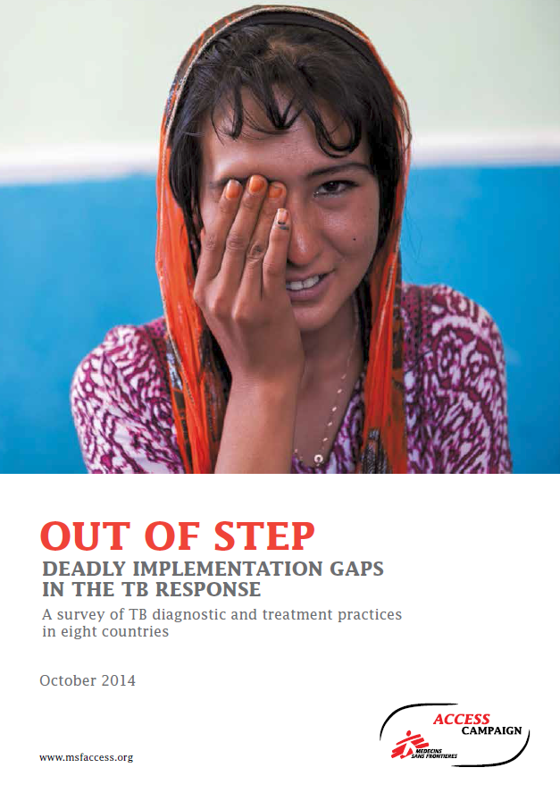 Out of Step TB Gaps MSF 2014