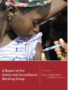 Report on the safety and surveillance working group