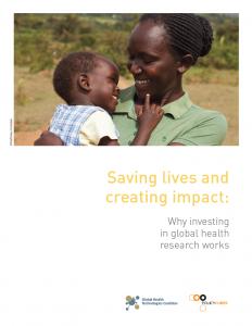 Saving lives creating impact